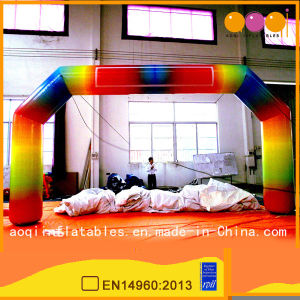 Rainbow Inflatable Arch for Advertisement (AQ5333) pictures & photos