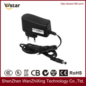 Switching Power Supply, AC DC Power Adapter with EU Plug pictures & photos