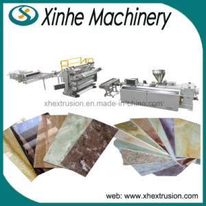 High Quality PVC Imitation Marble Sheet Extrusion Making Machine Production Line