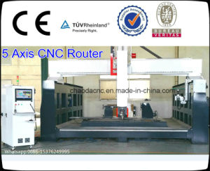 Factory Price 5 Axis CNC Router Machine, Sculpture CNC Router pictures & photos