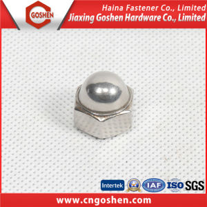 2016 New Promotion DIN1587 Ss304 Hex Cap Nut pictures & photos