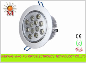 High Quality LED Ceiling Down Light 12W
