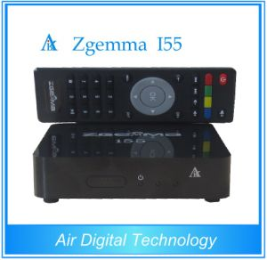 Air Digital Zgemma I55 IPTV Player Box Dual Core Linux OS E2 USB WiFi Full Channels Receiver pictures & photos