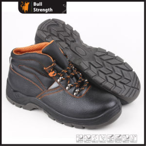 Industrial Leather Safety Shoes with Steel Toe and Steel Midsole (SN5332) pictures & photos