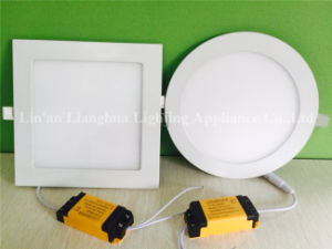 3W 6W 9W 12W 15W 18W 20W 24W 85V-265V Super Thin LED Panel Lamp Light pictures & photos