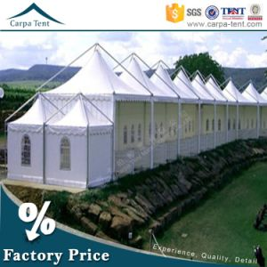 6X6 Pagoda Gazebo White PVC Wedding Tent Marquee at Factory Price pictures & photos