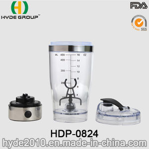 USB Charge Plastic Vortex Powder Shaker Bottle, Portable Plastic Electric Protein Shaker Bottle (HDP-0824) pictures & photos