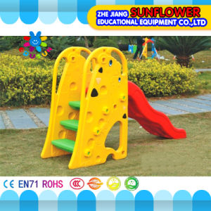 Indoor Playground Giraffe Shape Children Toys Kindergarten Soft Plastic Slide Playground (XYH12066-1) pictures & photos