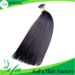 Overseas Hair Indian Straight Human Hair Extensions in Stock pictures & photos