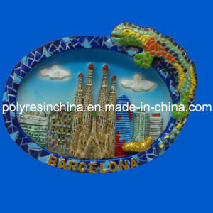 Resin Barcelona Souvenirs of Fridge Magnet Crafts pictures & photos