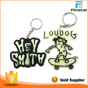 Custom PVC Rubber LED Keychain pictures & photos