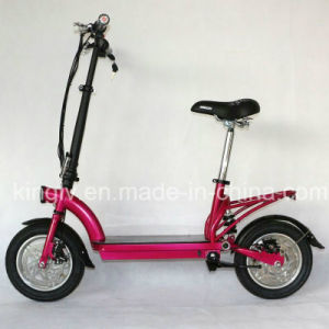 12inch Alloy Wheel Lithium Foldable Electric Bike pictures & photos
