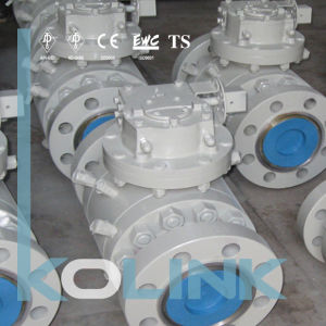 Forged Steel Trunnion Mounted Ball Valve Double Block and Bleed