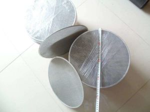 Customized Woven Wire Mesh Circular Round Extruder Screen Filter Discs pictures & photos