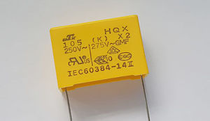 333k/275V 12*11*5 P=10 L=15 Film Capacitor / X2 Capacitor / Safety Capacitor