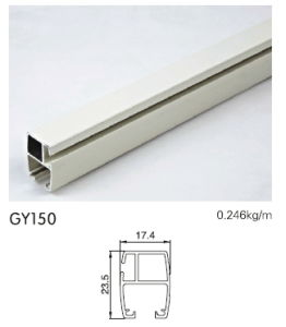 Aluminum Rail for Sliding Doors pictures & photos