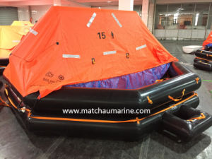 15 Persons Capacity GRP Contained Life Raft pictures & photos