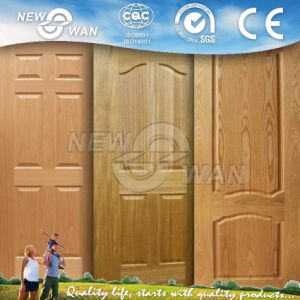Modern Natural Timber Wooden Door with Best Prices pictures & photos