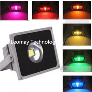 Color LED Flood Lighting with Good Heat Sink/ CE pictures & photos