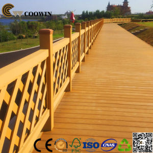High Quality Gazebo Decoration Coffee WPC Decking pictures & photos