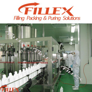 Milk Hot Filling Beverage Rinsing Filling Capping Machine pictures & photos