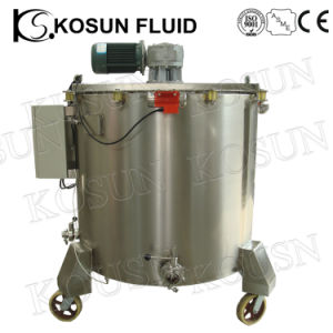 Stainless Steel Sanitary Electrical Heating Chocolate Mixing Tank pictures & photos