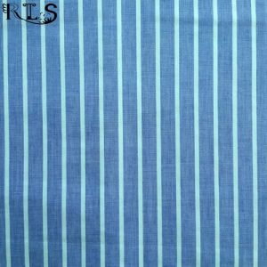 Cotton Poplin Woven Yarn Dyed Fabric for Garments Shirts/Dress Rls40-3po pictures & photos