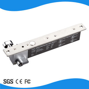 Magnetic Sensor Metal Key Open Delay 12V Power-off-Lock 2kkg Electric Bolt Lock pictures & photos