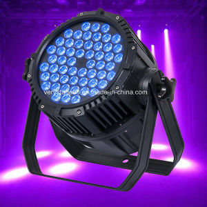 54*3W RGBW LED Event Party Disco Outdoot PAR Lighting pictures & photos