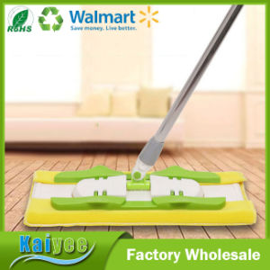Microfiber Floor Cleaning Flat Mop with Premium Mop Pads + Microfiber Cloths pictures & photos