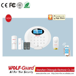 GSM Burglar Alarm System with 100 Wireless Zones (M3GB) pictures & photos
