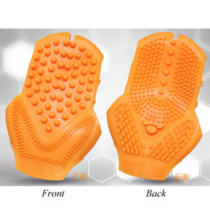 Body Slimming Silicon Hand Gloves Handheld Massager pictures & photos