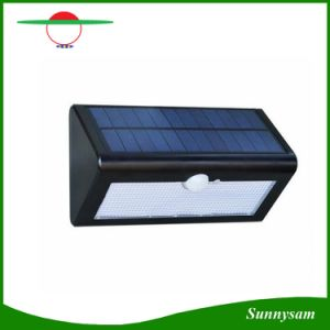 500lm Motion Sensor Waterproof 38 LED Solar Street Light Outdoor Garden Lampada Solar Garden Lamp Wall Sconce pictures & photos