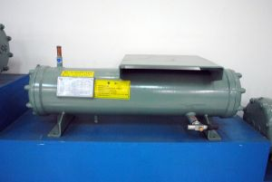 ISO9001 Certification Customized Shell and Tube 100kw Condenser