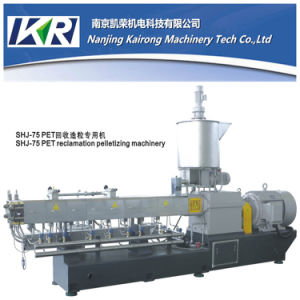 Tse-65 Twin Screw Plastic Granulator for Masterbatch pictures & photos