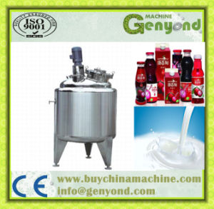 Dairy / Beverage Blending and Mixing Tank pictures & photos
