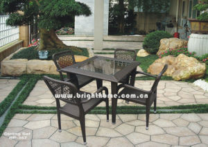 Leisure Rattan Outdoor Garden Dining Modern Furniture pictures & photos