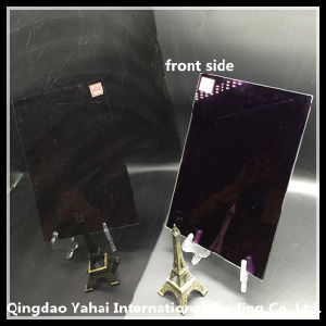 4mm Purple Colored Decorative Glass Mirror pictures & photos