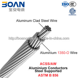 Acss/Aw, Aluminium Conductors Steel Supported (ASTM B 856) pictures & photos