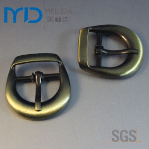 SGS Certified Antique Wire Drawing Pin Buckles for Belt, Apparals and Bags pictures & photos