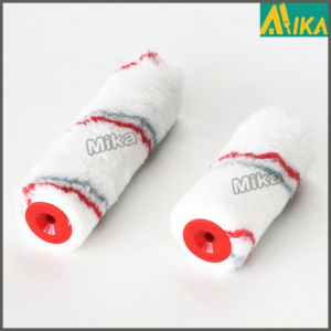 Red and Grey Strips Acrylic Thermal Bonding Mini Paint Roller pictures & photos