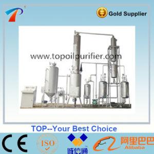 Vacuum Black Engine Oil Distillation Purifier pictures & photos