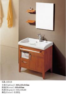 Floor Mounted Furniture Bathroom Cabinet (13113) pictures & photos