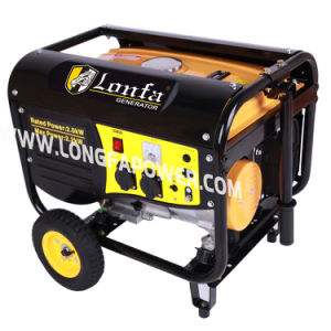 2200W Manual Start Portable Home Use Gasoline Generator pictures & photos