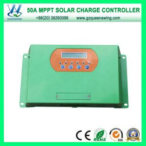 MPPT Controller 50A 12/24/48V Solar Charge Regulator (QWM-JR50A) pictures & photos