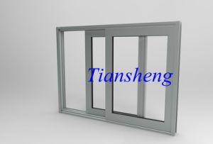 Single/Double Tempered Glass Aluminium Sliding Window pictures & photos