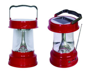 New Rechargeable with Radio Solar LED Camping Lantern pictures & photos
