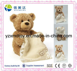 New Design Plush Bear with Blanket Soft Baby Toy pictures & photos