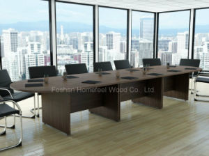 Traditional Design Big Size Boardroom Conference Table (HF-RE028) pictures & photos