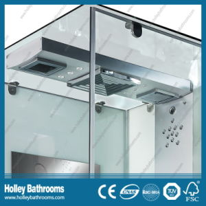 Hot Selling Computer Display Outdoor Shower Enclosure with Top and Panel Lamps (SR111W) pictures & photos